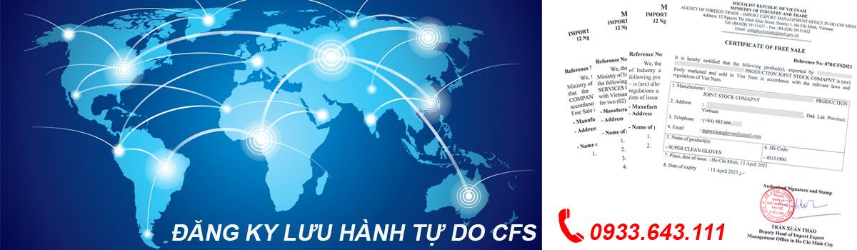 Đăng ký lưu hành tự do CFS