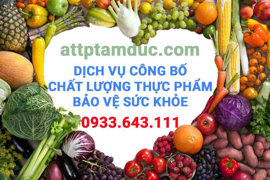 Dịch vụ công bố chất lượng Thực phẩm bảo vệ sức khỏe