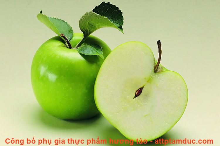 Công bố phụ gia thực phẩm hương táo tại thành phố Hồ Chí Minh
