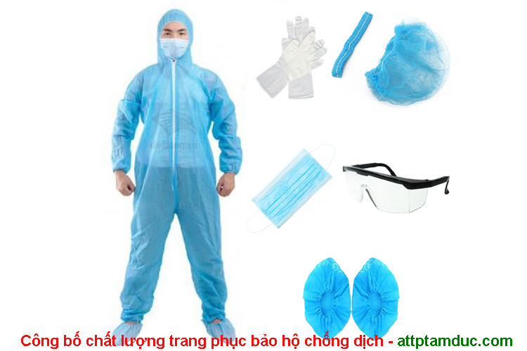 Công bố chất lượng trang phục bảo hộ chống dịch tại Hồ Chí Minh