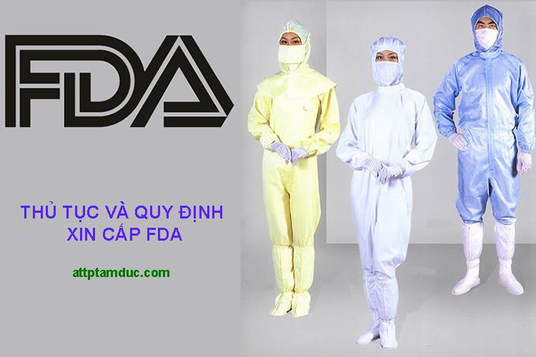 Xin FDA cho trang phục phòng dịch, trang phục y tế phòng dịch