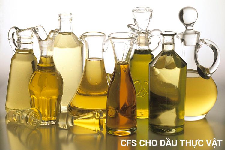 Đăng ký lưu hành tự do CFS cho dầu thực vật trên toàn quốc