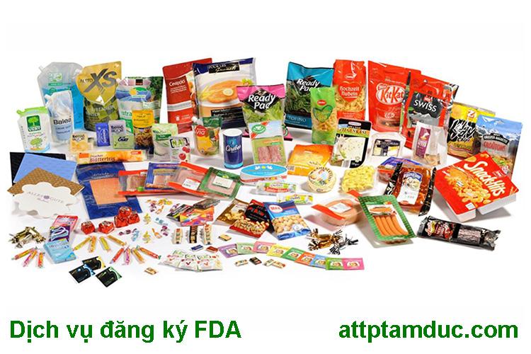 Dịch vụ làm FDA